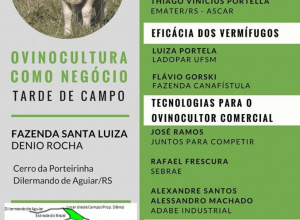 Tarde de Campo reunirá ovinocultores da região em Dilermando de Aguiar