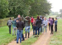 Reconhecimento da fauna local marca atividades da Semana do Meio Ambiente em Dilermando de Aguiar