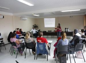 Grávidas participam de atividades em homenagem ao dia da gestante em Dilermando de Aguiar